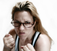 resistance to change angry woman